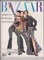Harper's Bazaar Mag Kate Moss Meghan Douglas January 1993 012420nonr