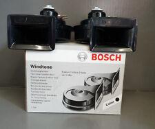 BOSCH Zweiklangfanfare Hupe Signalhorn Set 0986AH0503 VW Bora Golf4 Lupo Polo 6N