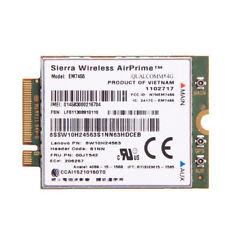Lenovo IBM Sierra Wireless EM7455 Qualcomm 4G LTE Module WWAN NGFF Card 00JT542