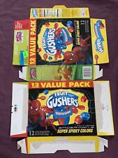 Spider-Man 3 Betty Crocker Fruit Gushers Empty Candy Box Only