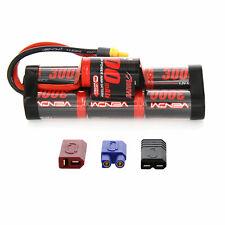 Venom NiMH Battery : Traxxas Rustler 8.4V 3000mAh 7 Cell Hump with UNI Plug