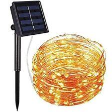 100 LED String  Decor Light Solar Power Party Garden Night Wire Lighting 38ft