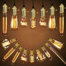 E27 220V 40W Edison Bulb LED Lamp Filament Light Warm White Home Decor*