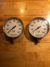 Two Ashcroft 160 Psi Gauges
