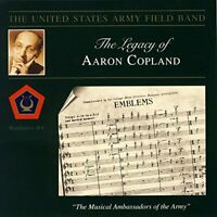 Us Army Field Band - Legacy of Aaron Copland: Emblems [CD]