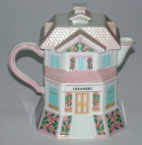 "Lenox Village Coffee Creamer ""Creamery"" ~ 1990"