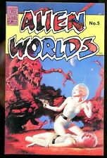 ALIEN WORLDS 5 (9.8) ECLIPSE COMICS (b008)