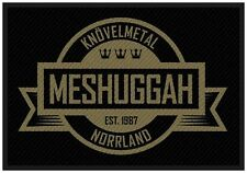 MESHUGGAH - Aufnäher Patch Negative Crest 10x5cm