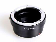 Kipon Nikon F mount AI lens to Nikon 1 mount camera adapter J1 V1 as Nikon FT1
