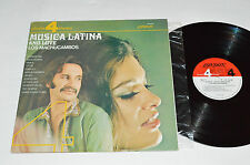 LOS MACHUCAMBOS Musica Latina and Love LP 1971 London Phase 4 Canada SP-44165