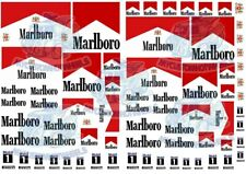 Marlboro Decals | Waterslide Transfers for Model Cars in all popular scales