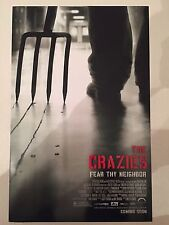 THE CRAZIES (2010) 11x17 PROMO MOVIE POSTER - TIMOTHY OLYPHANT ~BRAND NEW & MINT