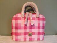 Dooney and Bourke Pink Zip Zip Sacthel handbag Purse Women's Fashion NWT