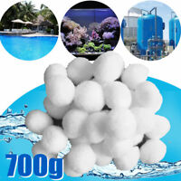 !!700g Pool Filterballs Quarzsand Filtersand Sandfilter Alternativ Poolfilter DE