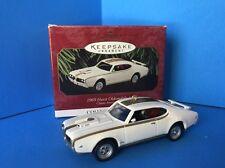 1969 Hurst Oldsmobile 442 Classic American Cars Hallmark Keepsake  Edition