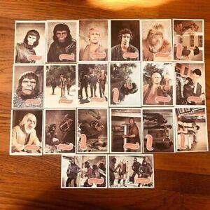 TWENTY (20) Original 1967 Planet of the Apes Movie Trading Cards