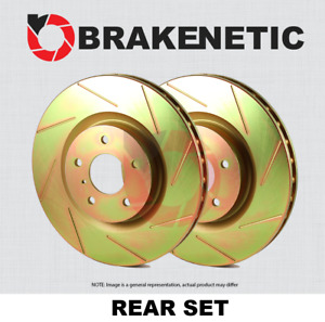 [REAR SET] BRAKENETIC SPORT SLOTTED Brake Disc Rotors BNS40017.SS
