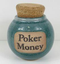 Muddy Waters Poker Money Handmade Word Jar