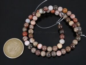 Natural Wood Fossil Stone Gemstone Round Spacer Beads 15.5'' Strand 6mm 8mm 10mm