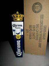 "New 7"" Corona Extra Crown 3 sided cerveza Import Beer Tap Handle Lot Kegerator"