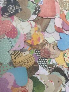 Craft Card Wedding Valentine Large Love Heart Cardmaking Scrapbook Tablescatter