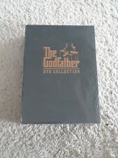 The Godfather Dvd Collection (Dvd, 2001, 5-Disc Set), remains plastic sealed