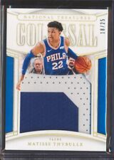 2019 National Treasures Matisse Thybulle Colossal Gold 3 Color Patch /25