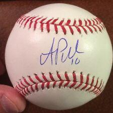 AJ PUK Autographed Baseball Sweet Spot ROMLB Oakland A's PROOF A.J. Florida