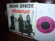 "Abacus, Indian Dancer, Be That Way, Glum Rock, Krautrock Belgien Pink Elephat 7"""