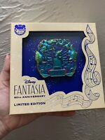 New Disney Parks Fantasia 80th Anniversary Sorcerer Mickey Jumbo Pin LE 1500