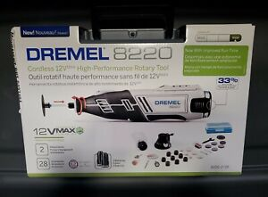 Brand New Dremel 8220-2/28 12VMax High-Performance Cordless Rotary Tool Kit