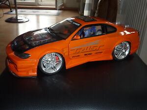 MAßSTAB 1:12 !!! 40 CM MASSIV%Nissan Silvia 2003 Kentoys FAST AND FURIOUS TUNING