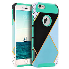 Heavy Duty Shockproof Silicone Tough Hard Case Cover For Apple iPhone 6S Plus