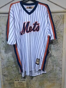 Size 5XT New York Mets Jersey Cooperstown Collection Majestic Cool