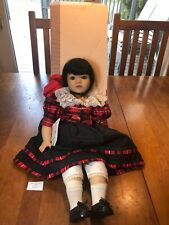 """1997 Gotz Doll 25.5 Long """"Principessa"""" with Box and Tags"""