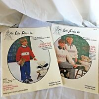 English Smocking sewing for Boys Little Prince Patterns 2 Sets