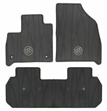 2018-2020 Buick Enclave Front & 2nd Row Premium All Weather Floor Mats Black OEM