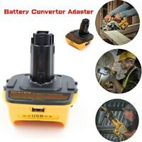 DCA1820 USB Converter For Dewalt 18V to 20V Volt Battery Adapter Convertor