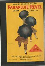 Parapluie Revel signé Capiello 1922