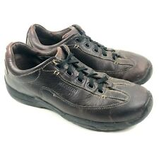 Mephisto Slacker Mens 9 US Brown Leather Walking Lace Up Shoes Casual Oxfords