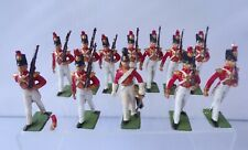 CHERILEA GUARDS RED COATS CADETS X12 PLASTIC SOLDIERS 1.32 SCALE