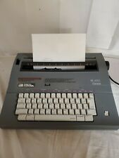 Smith Corona Sl480 Electric Portable Typewriter - Tested