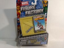 Rare Marvel Heroes Figure Factory Build Green Goblin Spider-Man Villain 2005 NEW