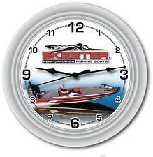 Skeeter Fishing Boat Wall Clock - Cottage Bass Watercraft Garage - GREAT GIFT