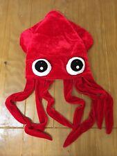87e48d7c Adult Unisex Squid Funny Costume Hat One Size Euc