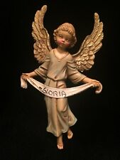 Vintage CHERUB Putti ANGEL Gloria DEPOSE Ornament Decor ITALY