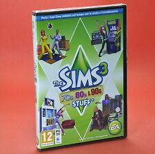 THE SIMS 3 70s 80s 90s STUFF PC e MAC espansione italiano moda e arredamento