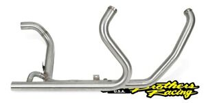Two Brothers 005-38701H Stainless FL Touring Headers 10-16 Harley FLH FLT