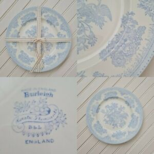Vintage Blue Asiatic Pheasant Dinner Plate By Burleigh 25.5cm -Free P&P Included
