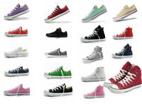 Man Women ALL STARs Chuck Taylor Ox Low High Top shoes casual Canvas Sneakers